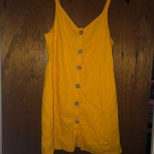 Cotton On Yellow Dress